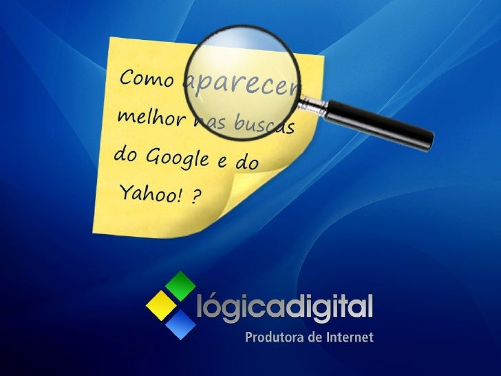 Marketing Digital - Otimização para Sites de Busca