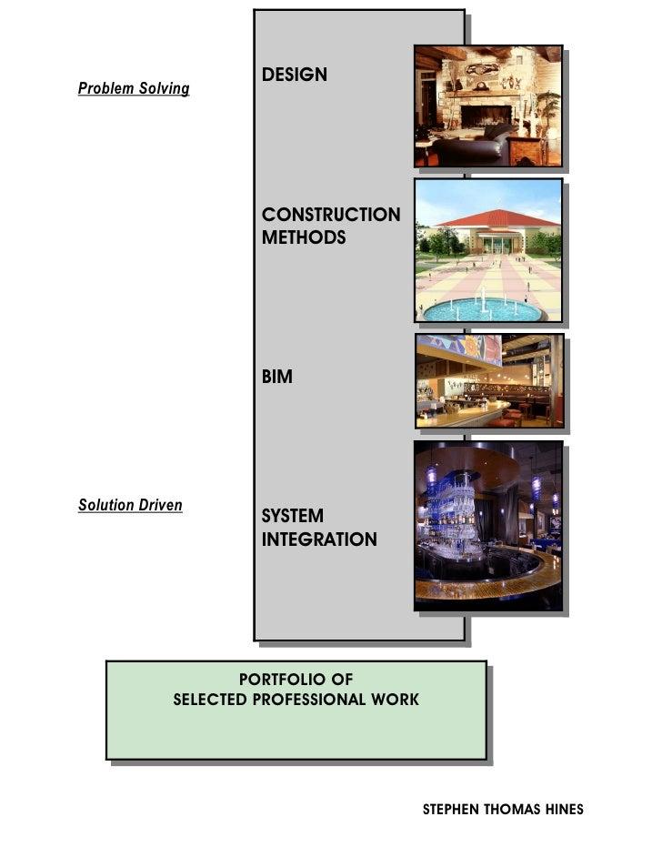 Portfolio of Selected Professional Work