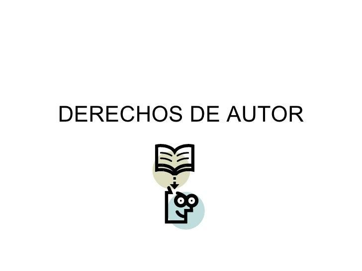 DERECHOS DE AUTOR:María-est-nav