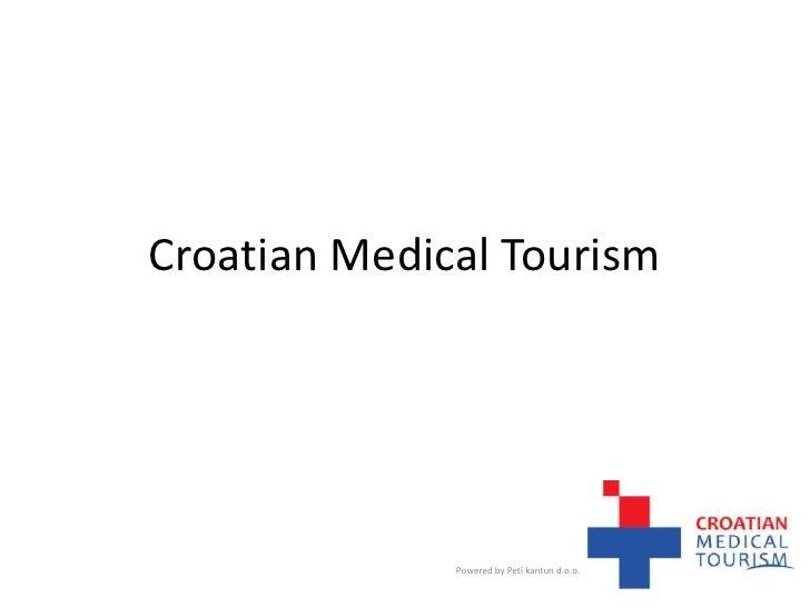 Croatian Medical Tourism<br />Powered by Peti kantun d.o.o.<br />