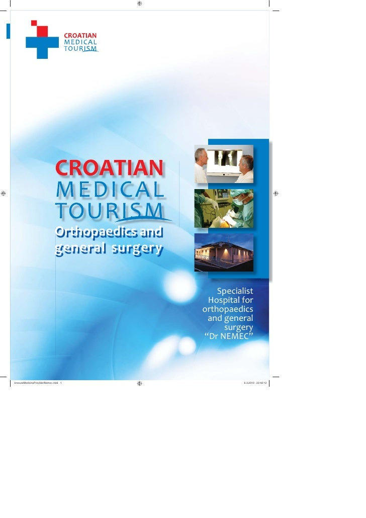 Medical Tourism in Croatia - Orthopedic hospital Dr Nemec