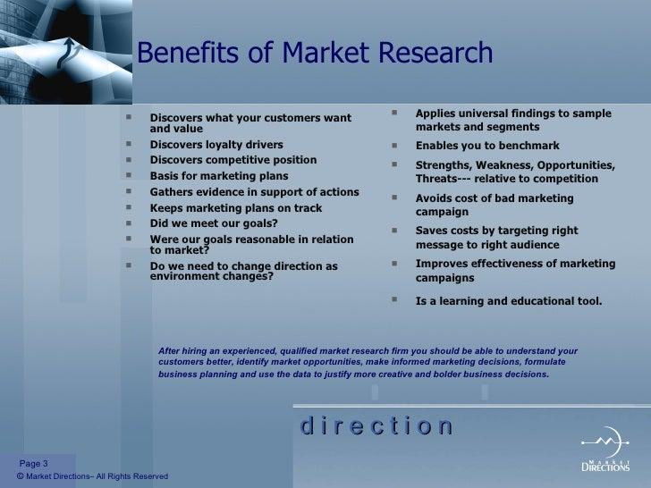 BREAKING DOWN 'Market Research'