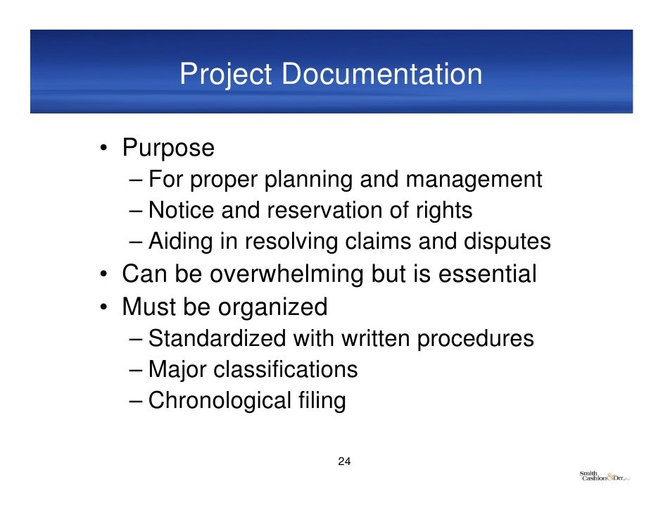 project document Construction management sample forms sample forms for the following construction management documents are contained herein: suam appendix d, project administrative reference manual, and contract general conditions.