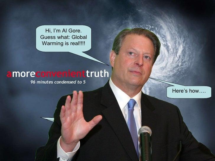 An Inconvenient Truth For Ethics Seminar