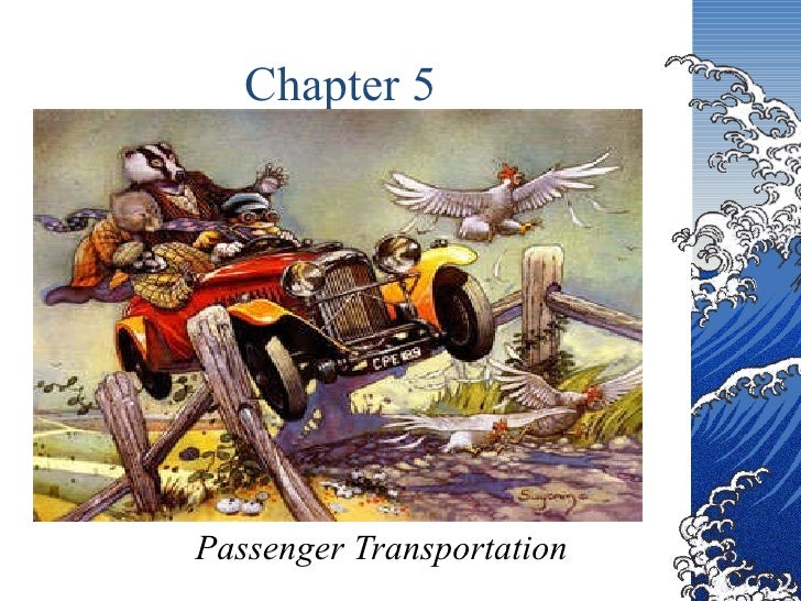 Chapter 5 Passenger Transportation
