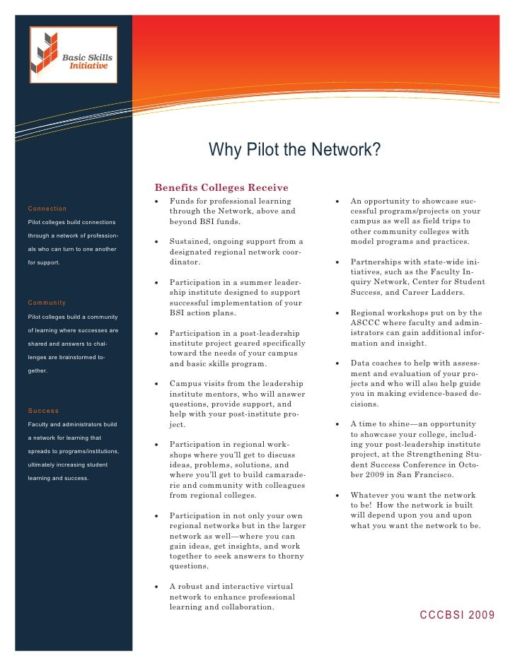 Information Technology Solutions                                                       Why Pilot the Network?             ...