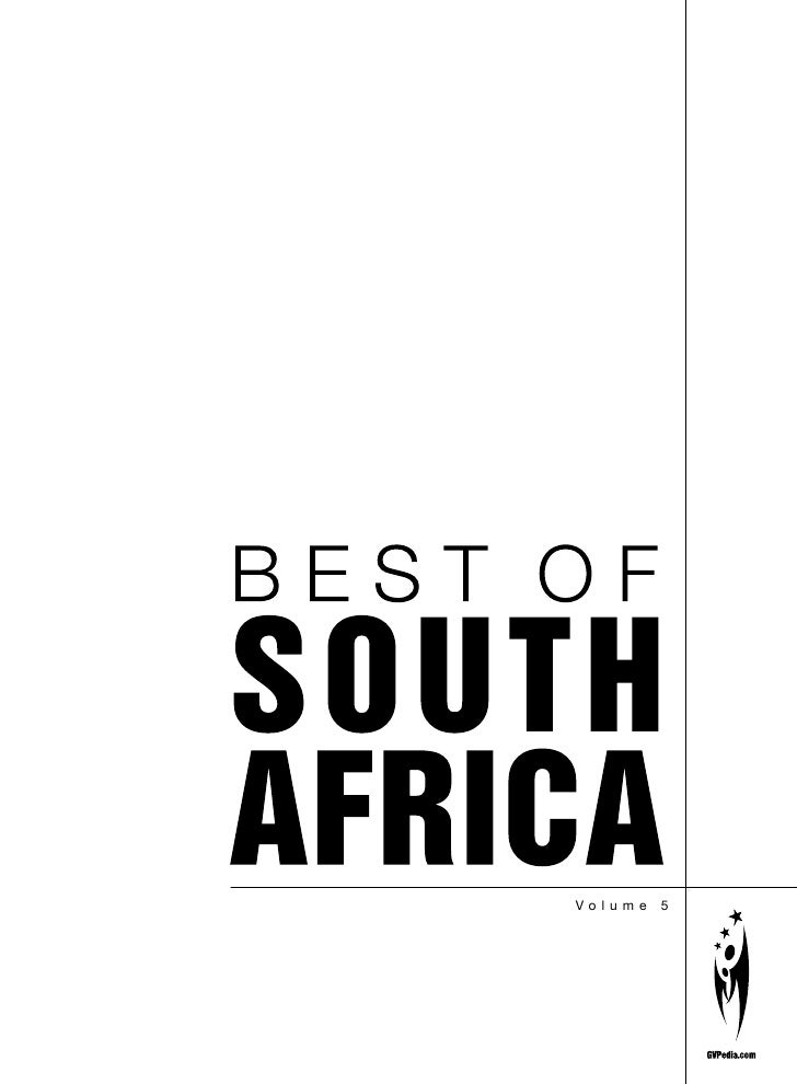 Best of South Africa vol 5