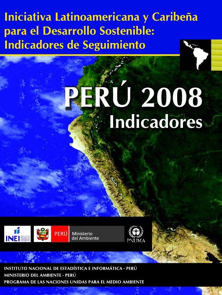 Indicadores Amb Peru 2008