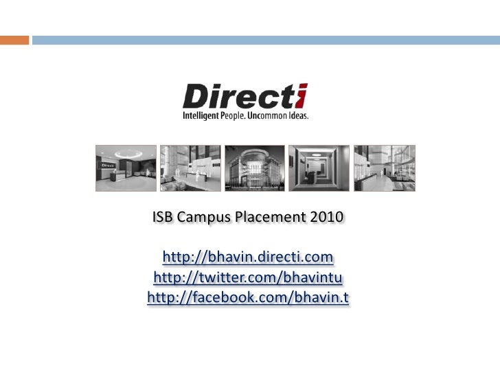 Introduction to Directi