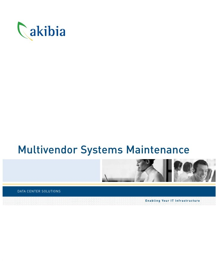 Akibia Data Center Support & Maintenance