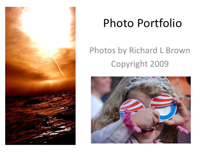 Richard Brown-Photo Portfolio