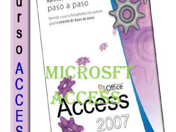 ACCESS<br />MICROSFT<br />