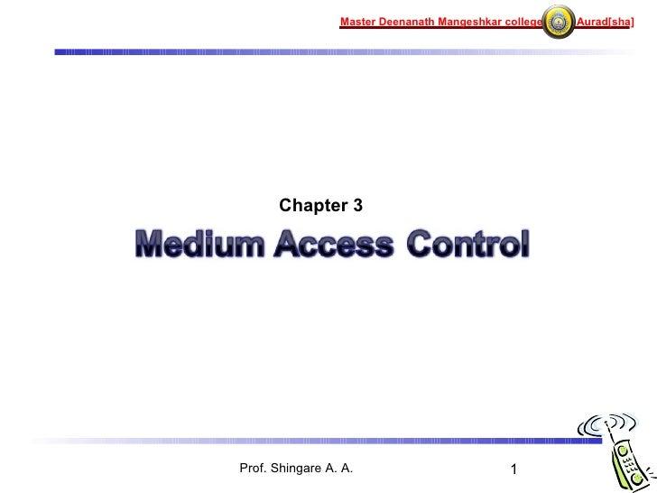 Mobile Communication MDM College