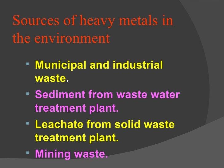 heavy metal removal techniques pdf