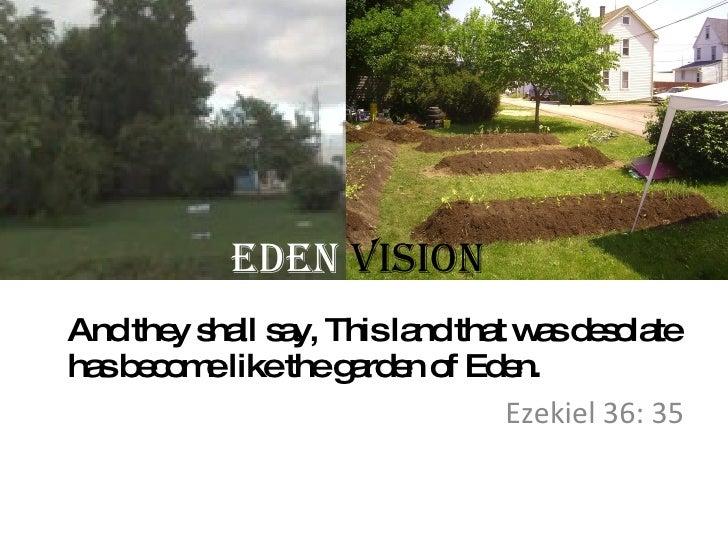 Eden Vision Project