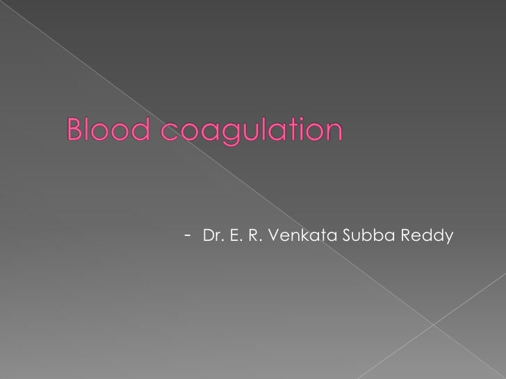 - Dr. E. R. Venkata Subba Reddy