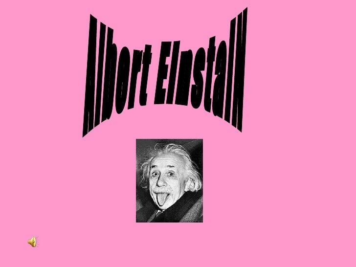 Albert EinstaiN