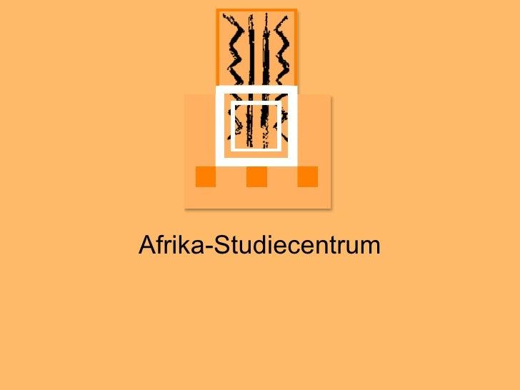 Afri ka-Studiecentrum