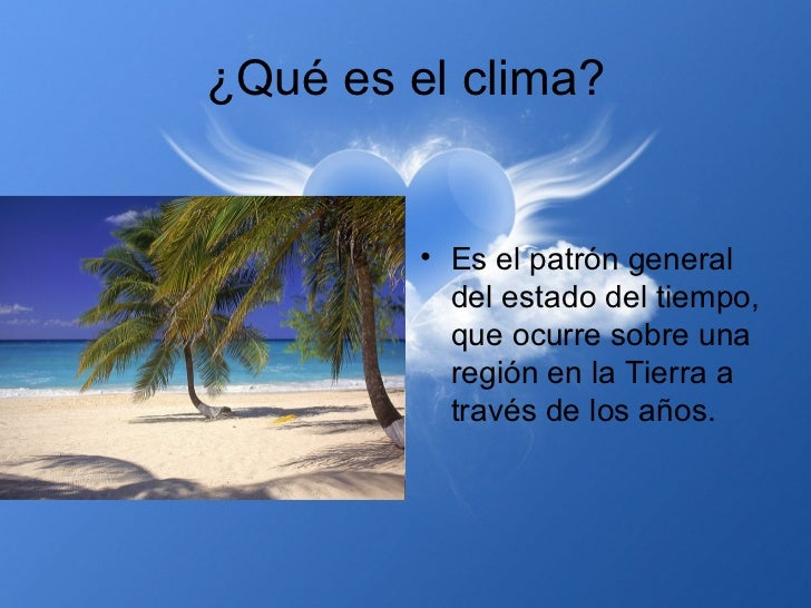 El clima y el estado del tiempo - El tiempo en l arboc ...