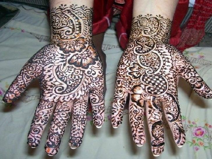 beauty of henna