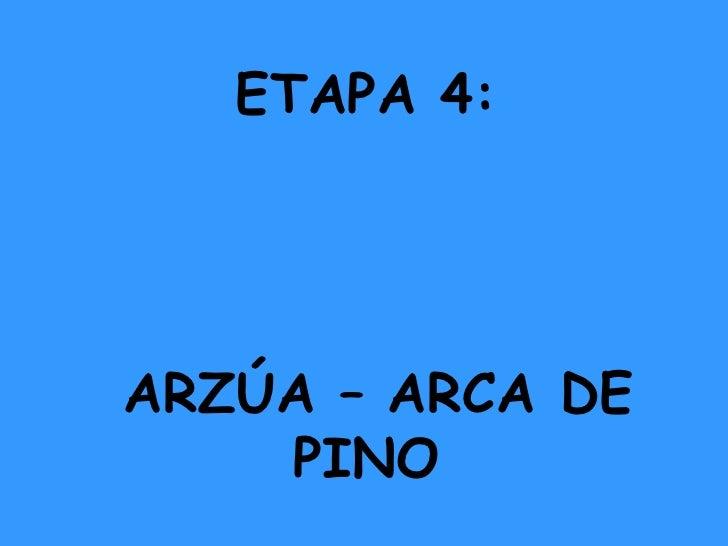 ETAPA 4: ARZÚA – ARCA DE PINO