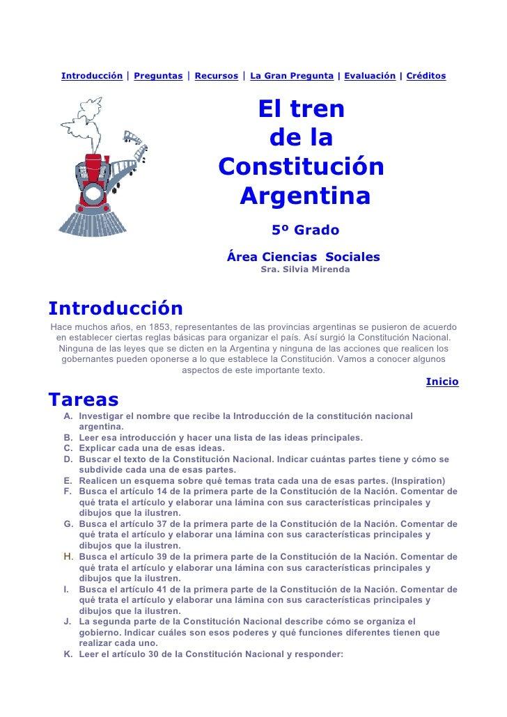 Introducción      Preguntas   Recursos   La Gran Pregunta   Evaluación   Créditos                                         ...
