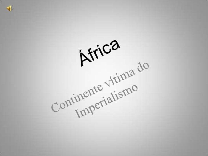 Trabalho de História - Imperialismo