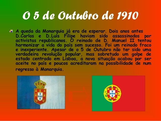 Image result for 5 de outubro