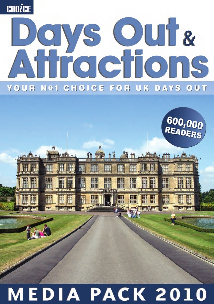 Choice Days Out & Attractions Media Pack 2010
