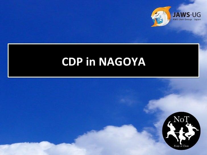 CDP in NAGOYA