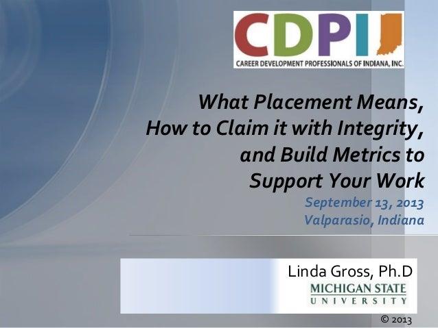 Fall 2013 Conference Keynote Presentation-Dr. Linda Gross