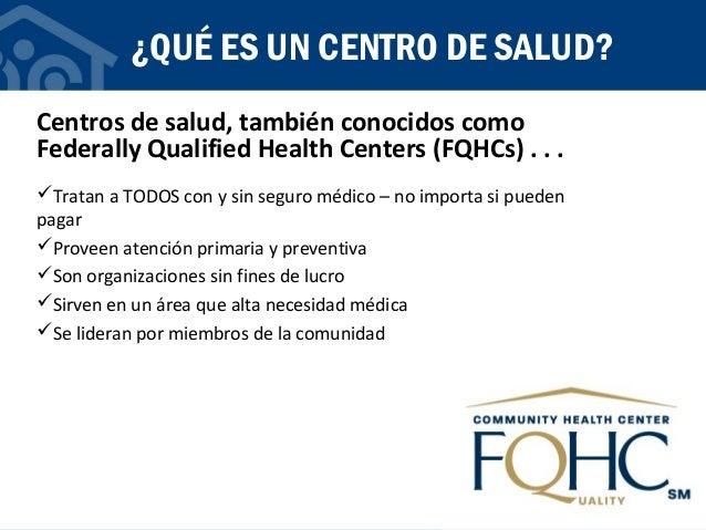 Centros de salud - 101