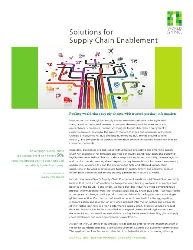 scm globe assignment exploring other supply The 10 keys to global logistics excellence 1  are reduced across the globe supply chain managers are caught in the  supply chain versus other functions in.