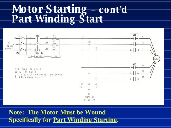 Part Winding Start  pressor Wiring Diagram on carrier hvac wiring diagrams