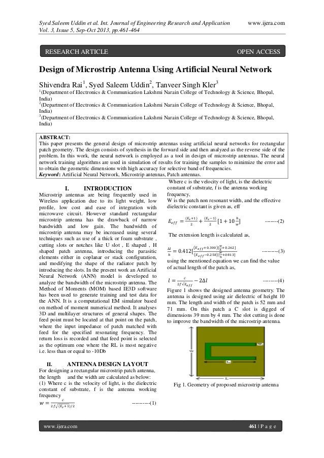 Syed Saleem Uddin et al. Int. Journal of Engineering Research and Application www.ijera.com Vol. 3, Issue 5, Sep-Oct 2013,...