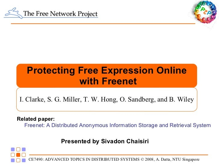 Present Paper: Protecting Free Expression Online on Freenet