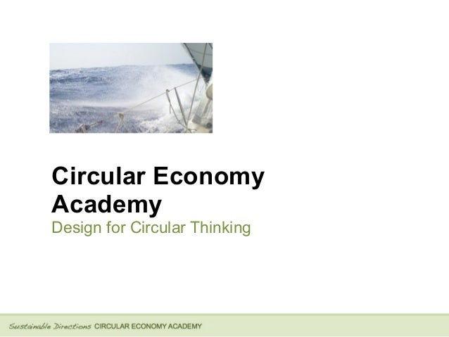 Circular Economy Academy Design for Circular Thinking