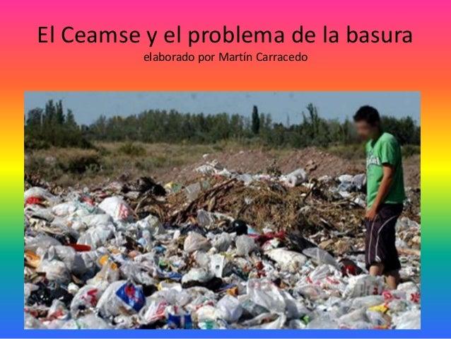 El Ceamse y el problema de la basura elaborado por Martín Carracedo