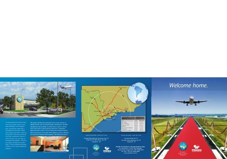 Welcome home.          Aerospace    Business Center      Caçapava