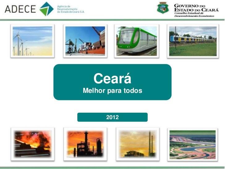 CearáMelhor para todos      2012