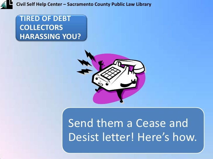 Cease and Desist Letter (English)