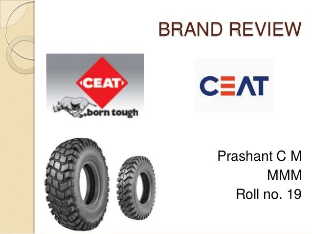 BRAND REVIEWPrashant C MMMMRoll no. 19