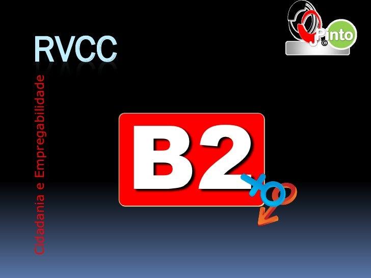 Cidadania e Empregabilidade                              RVCC       B2