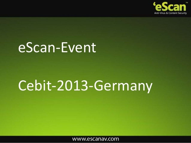 eScan-EventCebit-2013-Germany