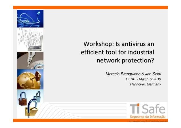 CEBIT 2013 - Workshop Presentation