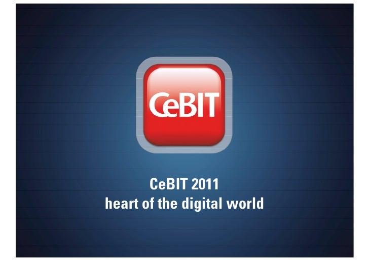 CeBIT 2011 Presentation