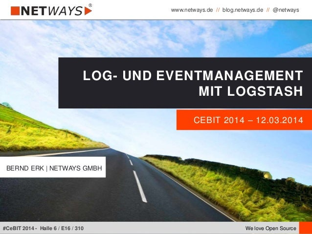 www.netways.de // blog.netways.de // @netways We love Open Source#CeBIT 2014 - Halle 6 / E16 / 310 CEBIT 2014 – 12.03.2014...
