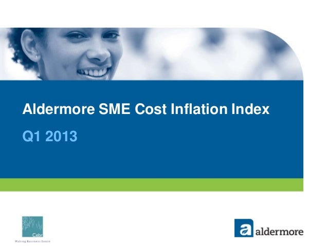 Aldermore SME Cost Inflation IndexQ1 2013