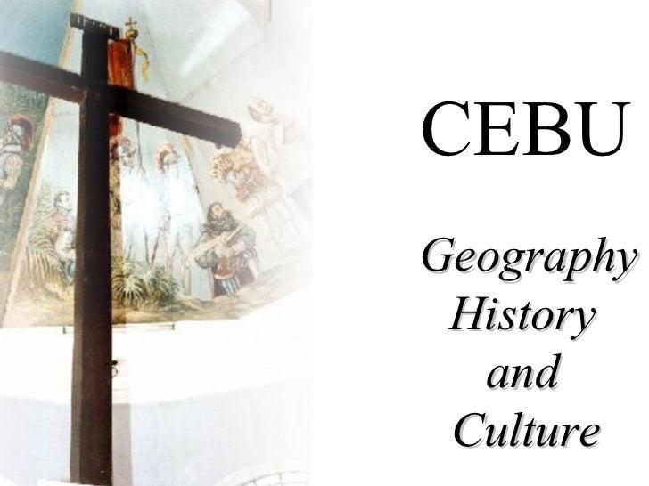Cebu history lecture