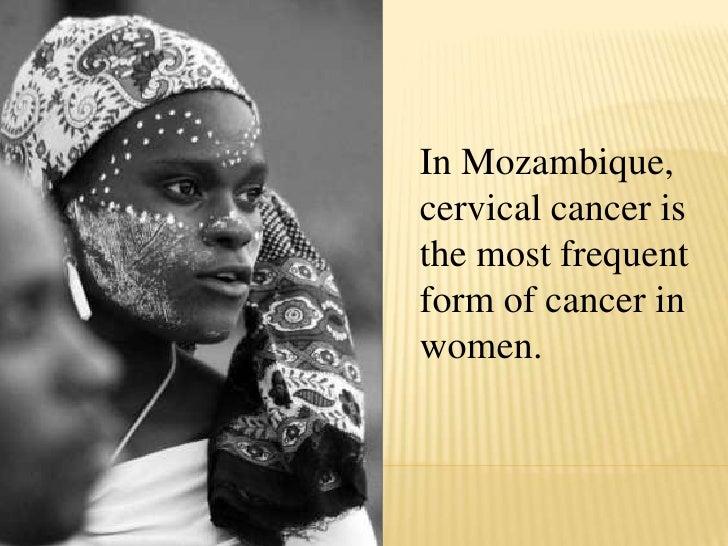 Cervical Cancer Mozambique Slide Show